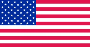 US Flag Color for Print
