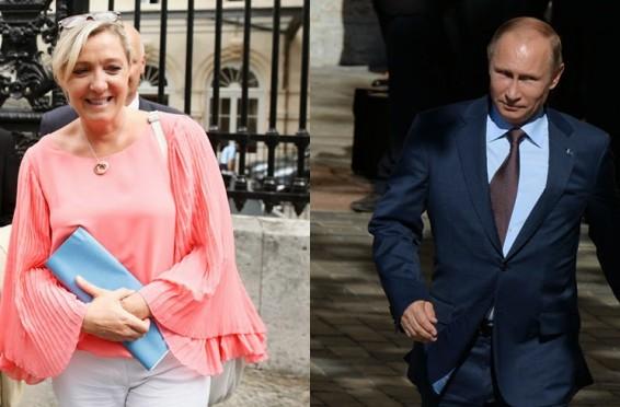 Marine Le Pen;Vladimir Putin