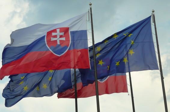 Slovakia EU flag