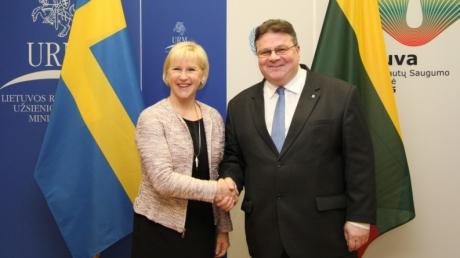 Lituania-Suedia ministri de externe