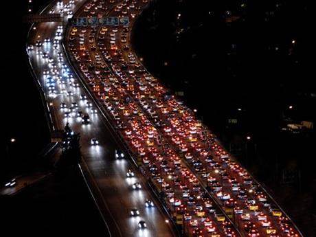 Moskova trafic
