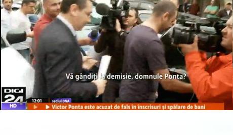 Ponta demisiei