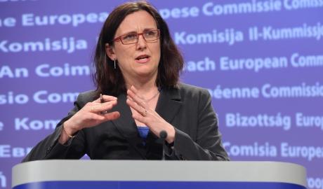 Comisarul european pentru comerț, Cecilia Malmstrom