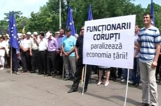 protest agricultori