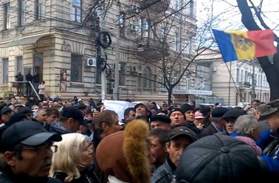 ANRE Proteste, noiembrie 2015