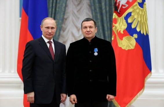 Vladimir_Rudol'fovich_Solovyov_and_Vladimir_Putin
