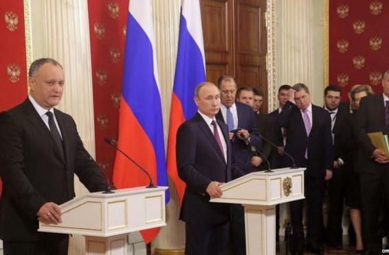 Dodon Putin