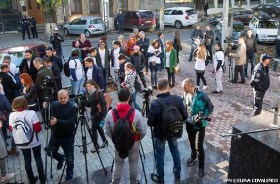Proteste jurnalisti CSM