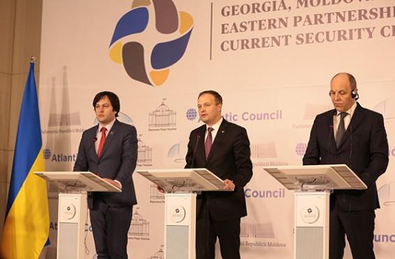 Asamblee Ucraina, Gerogia, Moldova