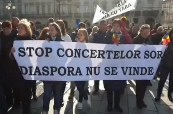 Proteste Italia contra SOR